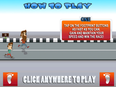 ` Hipster Race Running Battle Competition Games Work-out Free Fun screenshot 7