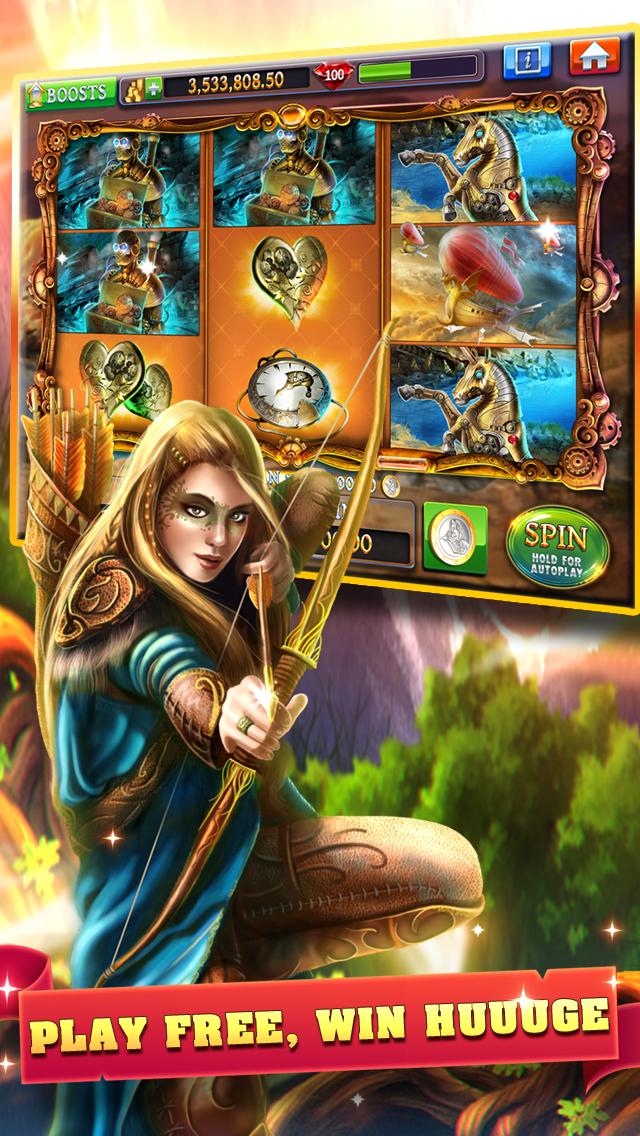 Slots - Journey of Magic HD+ screenshot 2