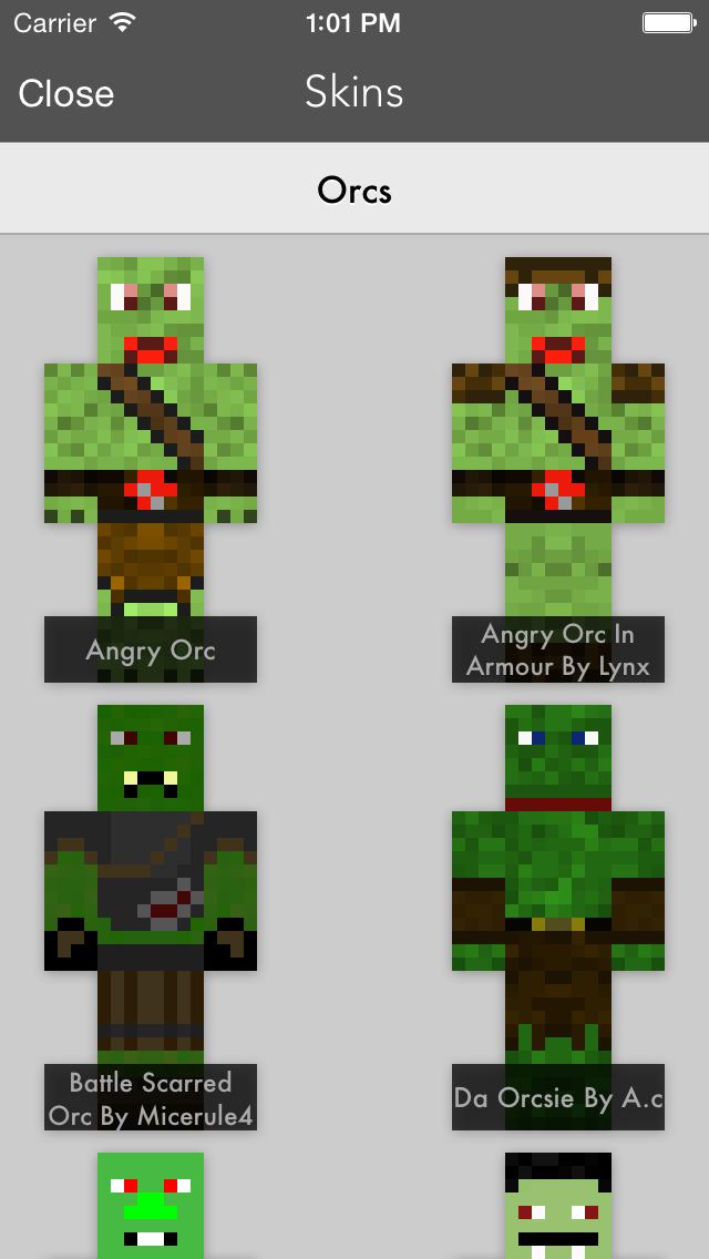 Skins Pro Medieval - Minecraft screenshot 3