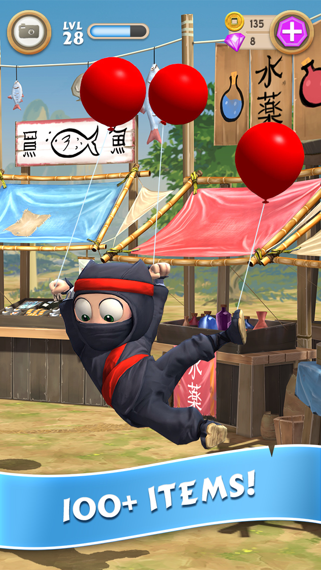 Clumsy Ninja screenshot #4