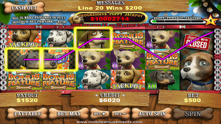 Pet Store Puppies Slots FREE screenshot 1