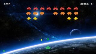 Classic Invaders: arcade retro space shooting game screenshot 4