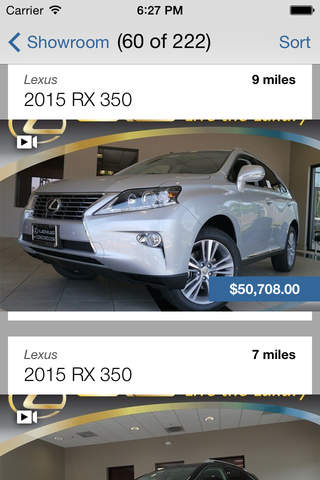 Lexus of Concord DealerApp - náhled