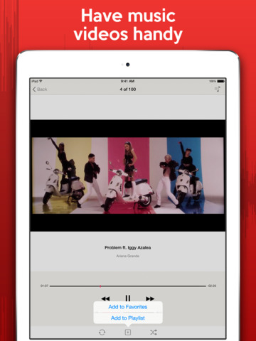Watch & Listen - Best media player for YouTube music, videos, and clips screenshot 9