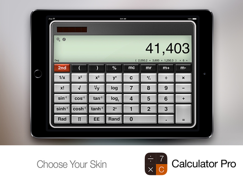 Calculator Pro+ for iPad screenshot 4