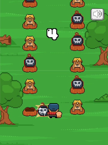 ``Action Mole a Hole 2: Dont Smash the Bomb screenshot 8