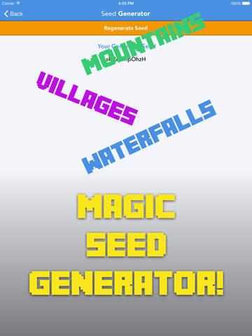 Seeds Pro for Minecraft screenshot 10