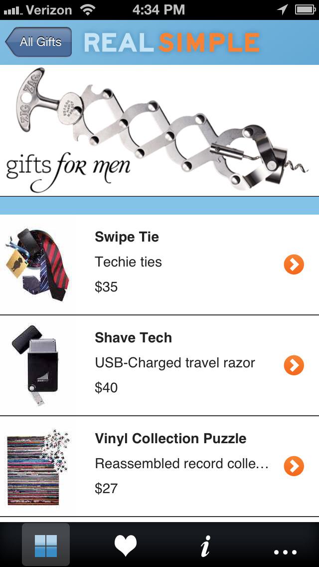 Real Simple Gift Guide screenshot 3