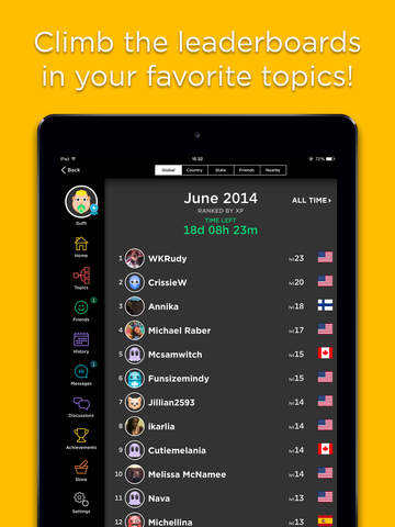 QuizUp® screenshot 10