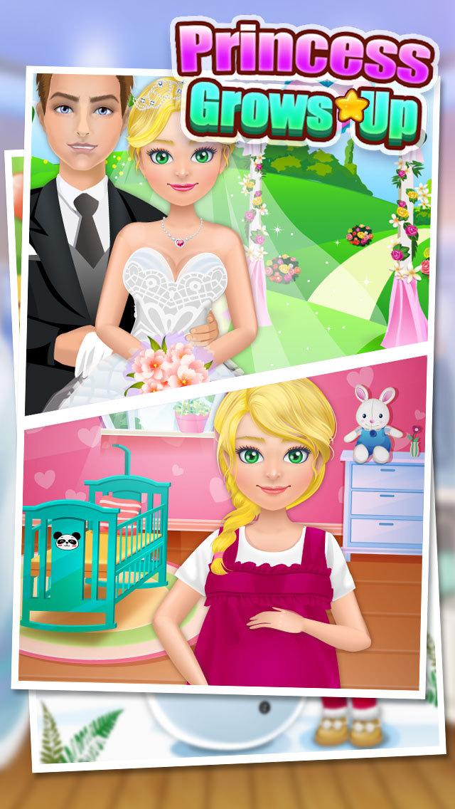 Princess Grows Up - Free Kids Games screenshot 3