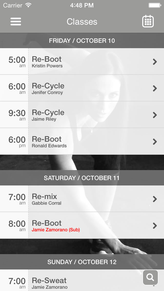Revolution Fitness 909 screenshot #3