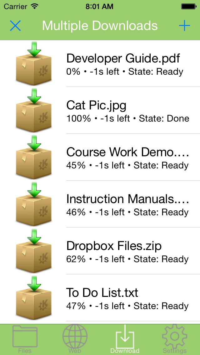 Downloader - File Manager, Downloader & Download Manager + PDF Reader screenshot 2