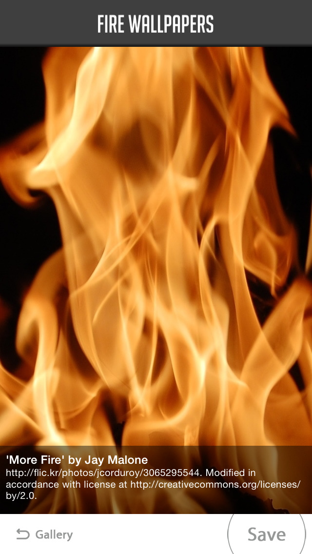 Fire Wallpaper screenshot 4