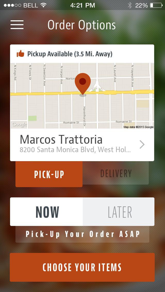 Marco's Trattoria screenshot 2