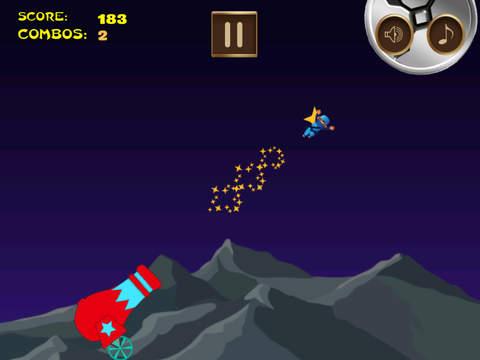 Awesome Flying Ninja Boy Pro - crazy sky flight racing game screenshot 5