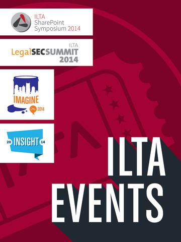 ILTA Events for 2014 screenshot 3