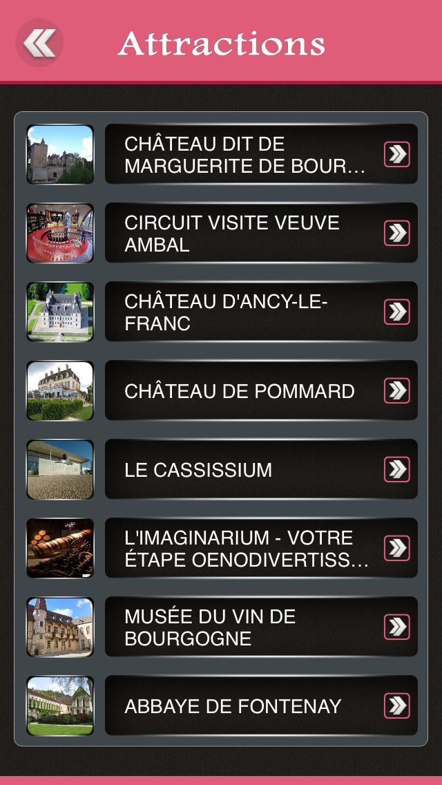 Beaune Offline Travel Guide screenshot 3