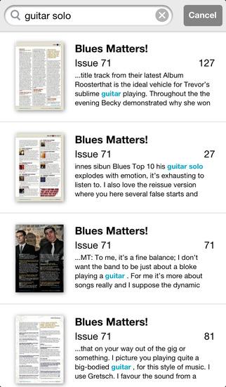 Blues Matters! screenshot 4