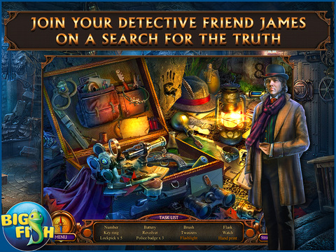 Haunted Hotel: Ancient Bane HD - A Ghostly Hidden Object Game screenshot 2