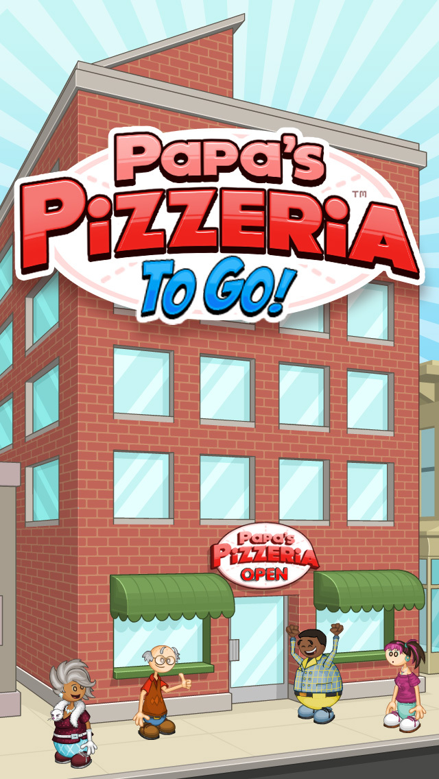 Papa's Pizzeria To Go! screenshot 1