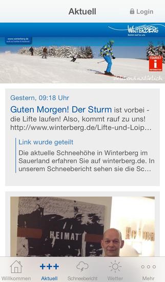 Winterberg.de screenshot 1