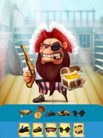 The Super Pirates of Paradise Treasure Island Ship Game For Boys - Free App screenshot 10