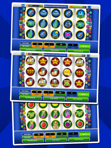 `Lucky Gold Coin Jackpot Casino 777 Slots - Slot Machine with Blackjack, Solitaire, Bonus Prizewheel screenshot 10