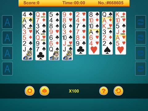 123 # Freecell screenshot 5
