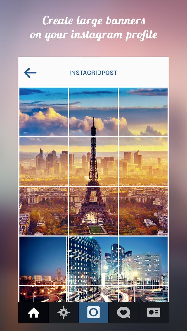 Grid Post Maker for Instagram | Apps | 148Apps