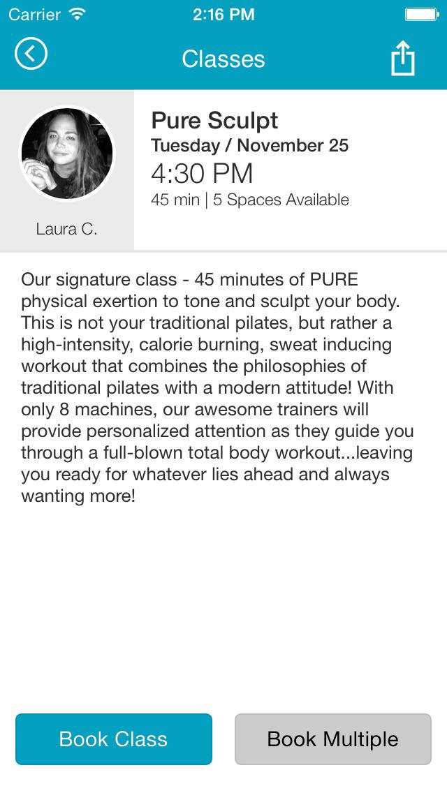 Pure Pilates Austin screenshot #4