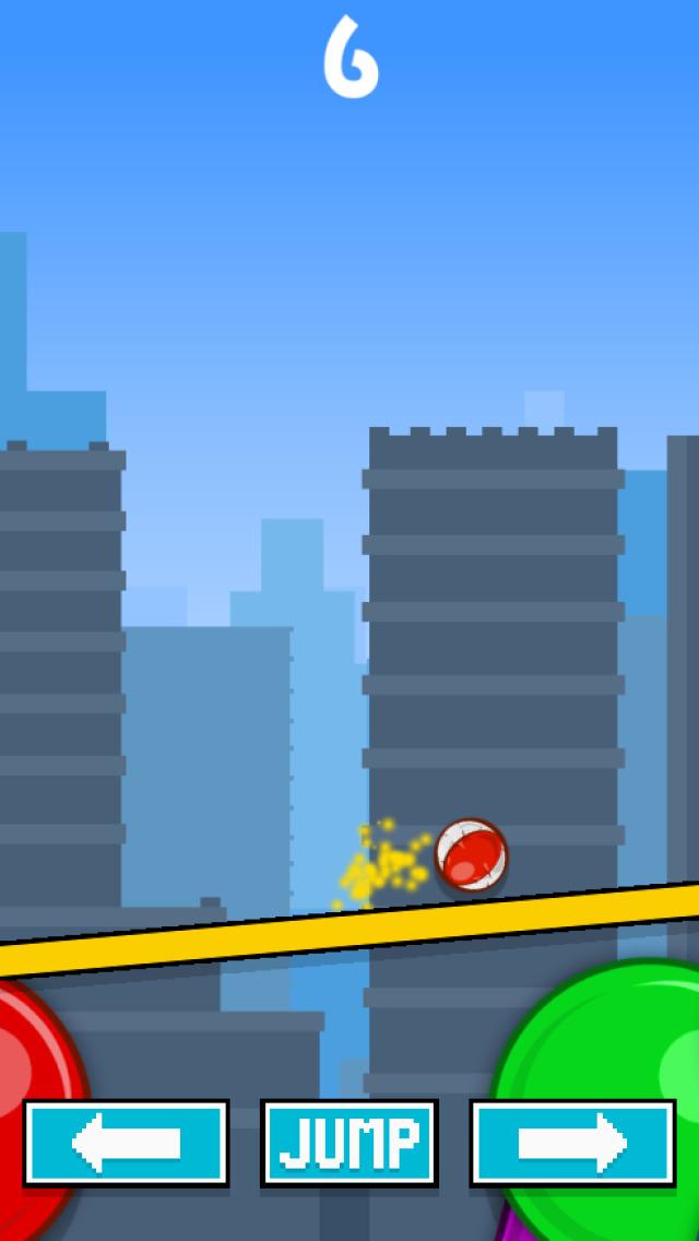 Beach Balls vs Red Ball FREE screenshot 3