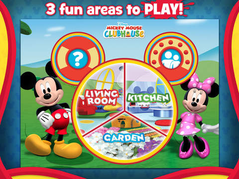 Mickey Mouse Clubhouse - Color & Play screenshot #1