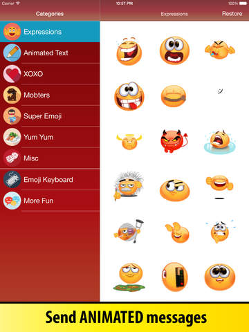 Animated Emoji Keyboard - Emoticons for iPhone & iPad screenshot 6