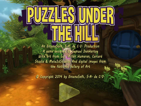 Puzzles Under The Hill screenshot 1