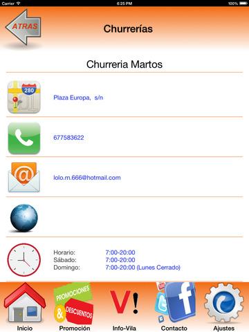 Portuvila Viladecans - guía comercial y mucho más screenshot 10