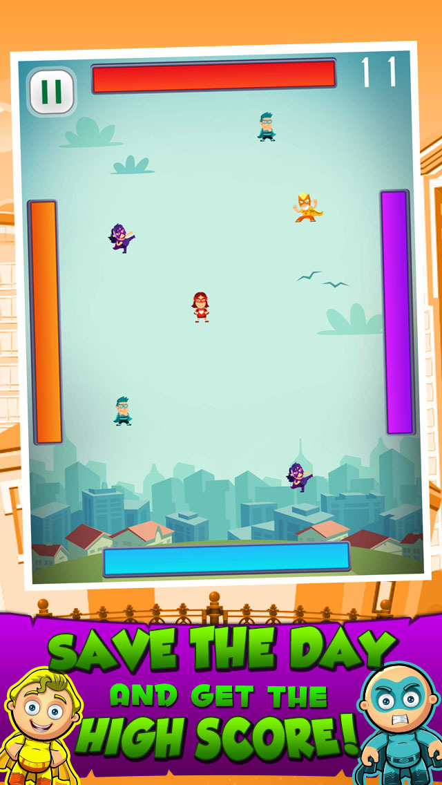 Flying Children From Outer Space screenshot 2