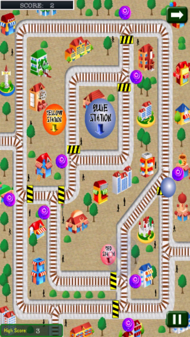 Magical Balloons : Fun Puzzle And Strategic of quick mind screenshot 3