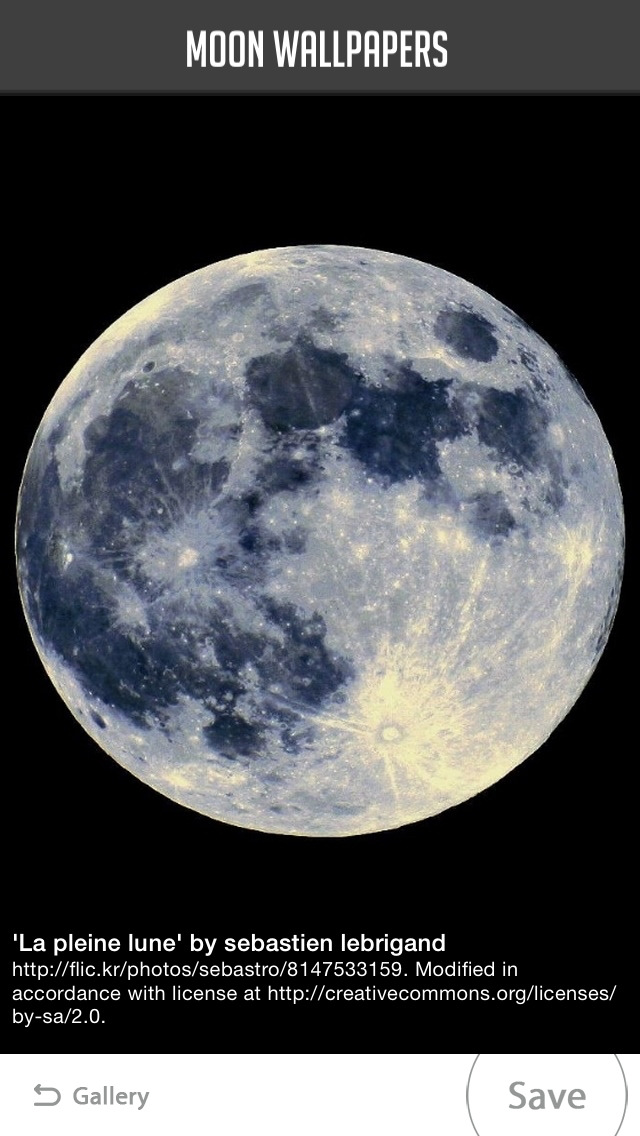 Moon Wallpaper screenshot 4