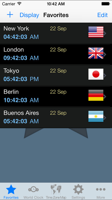does iphone change time for daylight savings world clock time zones on the app 4908