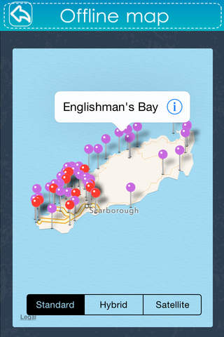 Trinidad and Tobago Travel Guide - Offline Maps - náhled