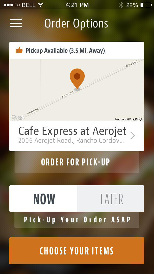 Cafe Express screenshot 2