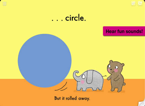 Elephant, Bear, Circle, Square - The Learning Company Little Books screenshot 7