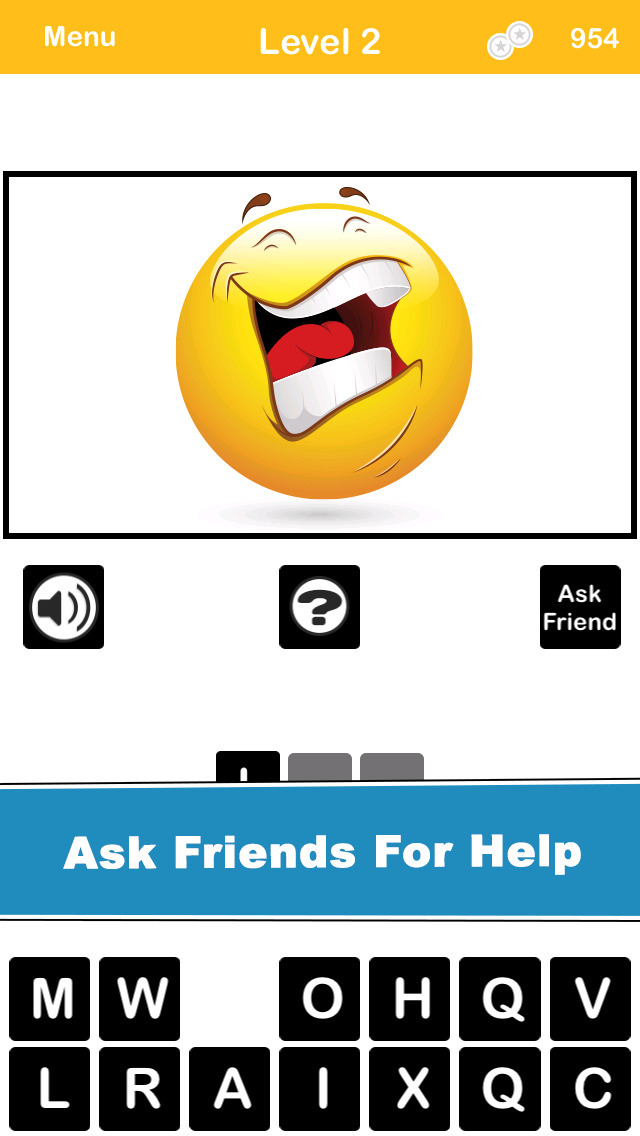 What's The Emoticon? Can you guess the emotion from the icon? Free screenshot 3