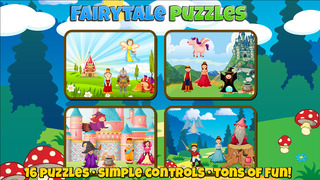 Fairytale Puzzles For Kids screenshot 1