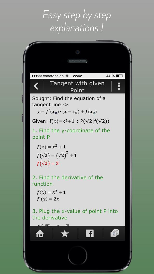 High School & College Apps Math - Manual for Graphing Calculators TI-84 Plus, TI-Nspire CX and CASIO fx-9860GII. screenshot 5