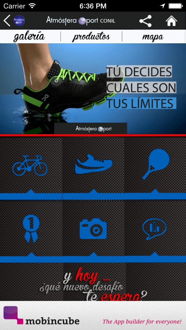 Atmósfera Sport Conil - Tu tienda de productos deportivos screenshot 4
