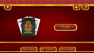 American BlackJack Casino King - Grand Vegas chips betting table screenshot 2