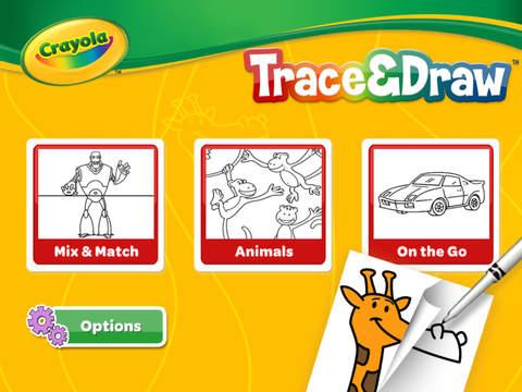 Crayola Trace & Draw screenshot 2