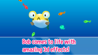 Bob the Blowfish - The Moody Virtual Fugu Fish screenshot #2