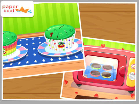 Cupcake Studio - Junior Chef's Dessert Maker Bakery with Baking and Cooking Games screenshot 8